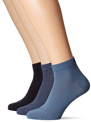 3p Sport Chaussettes Blue Adulte 271080001 De 3 Multicolore Mixte Quarter Puma Plain denim lot blue qgYHwt