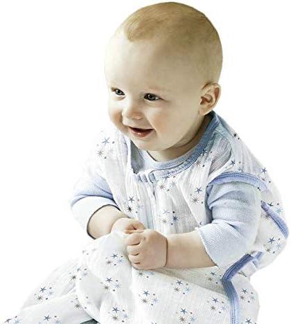Yichener Saco de Dormir Fino de Muselina de algodón para bebé, para Verano, sin Mangas, Saco de Dormir para Bebe Sacos: Amazon.es: Jardín