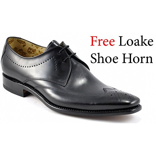 mens-loake-part-brogue-lace-up-leather-shoes-stitch-black-size-95f-eu-44-us-size-105