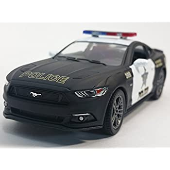 Kinsmart  Ford Mustang Gt Black White State Police Squad Car   Scale