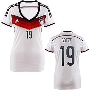 Götze para 60284 Camiseta deportiva adidas Trikot DFB fbY7gvI6y