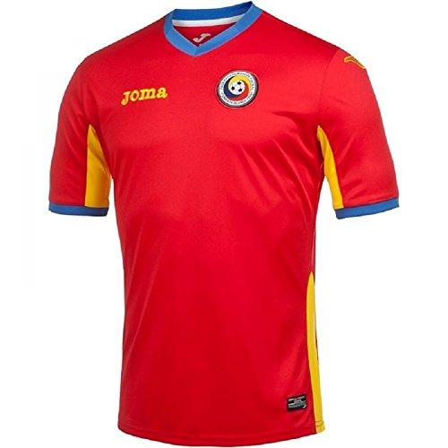 2016 Away Football 2017 Romania Red Joma Shirt PwrZPTq