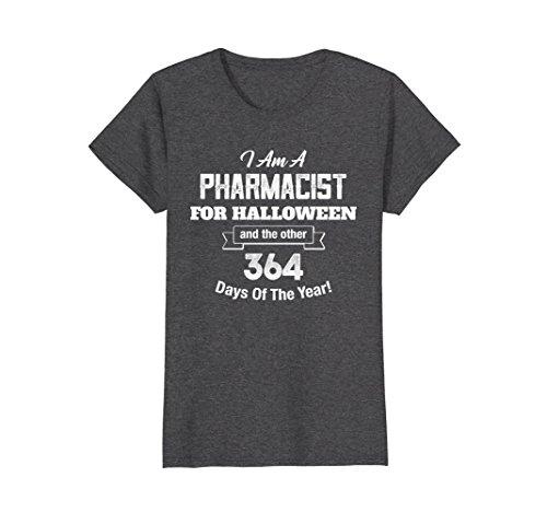 Womens Pharmacist Funny Halloween Costume Party Supplies XL Dark (Pharmacist Costume Halloween)