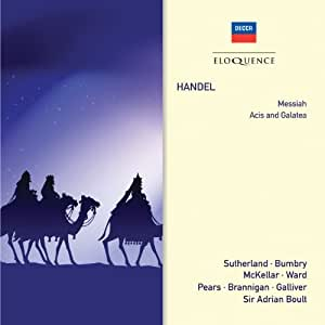 Handel: Messiah / Acis and Galatea