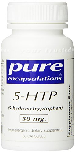 Pure Encapsulations - 5-HTP (5-hydroxytryptophane) 50mg - 60 comprimés
