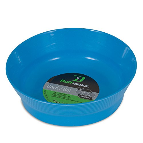 Petmate Ruff Maxx Bowl, Blue, 64 oz