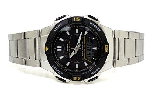 Reloj resistente Solar analógico Casio hombre y Digital Aq-S800Wd-1E Negro Dial de plata baratos: Amazon.es: Relojes