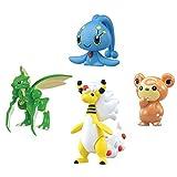 Pokémon 4-Figure Gift Pack - Mega Ampharos, Manaphy, Teddiursa, Scyther