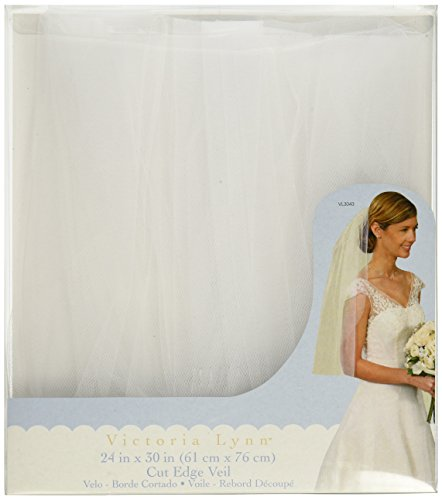 Darice VL3043 Wedding 24 Inch White