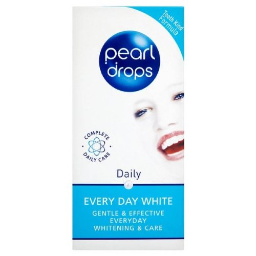 Pearl Drops Daily Every Day White Toothpolish 50ml Toothpaste by BOUTY SpA (Toothpaste White Pearl Whitening)