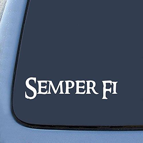 Semper Fi Marines Sticker Decal Notebook Car Laptop 6