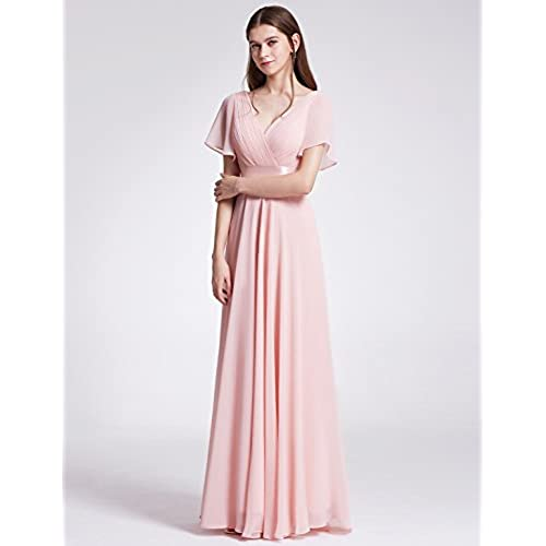 Ever-Pretty Petite Dresses Special Occasion 14US Pink