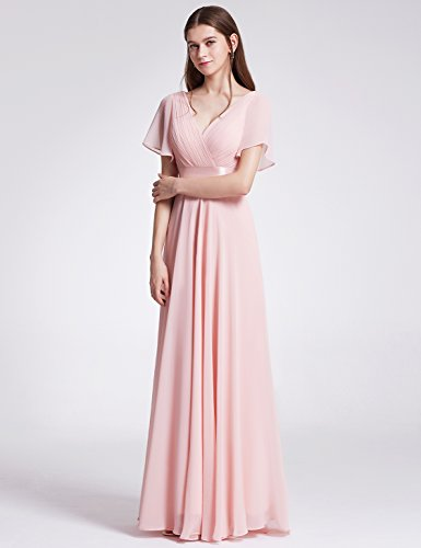Ever-Pretty Long Casual Dresses For Juniors 8US Pink