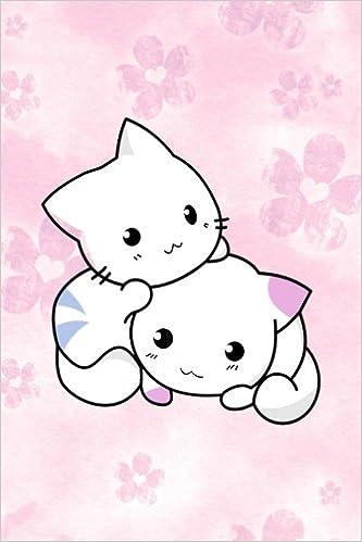 56390fd8e8ab1 Journal: Cute Journal For Girls, Kawaii Journal, Kitten Journal ...