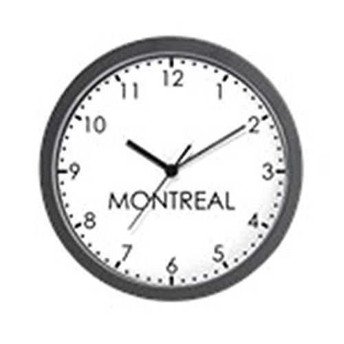 CafePress – MONTREAL Modern Newsroom Wall Clock – Unique Decorative 10″ Wall Clock Review