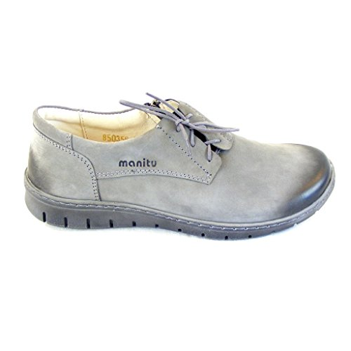 Womens Manitu 850356 Grey Slipper 850356 Manitu gq1wzqt