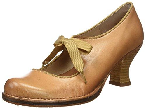 Neosens S859 Restored Skin Wood Rococo, Zapatos de Tacón con Punta Cerrada para Mujer Beige (Wood)