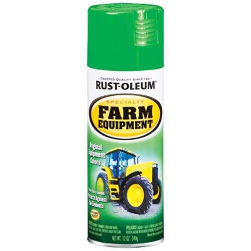 Rust-Oleum 7435830 Specialty Farm Equipment Spray Paint, 12 oz, John Deere Green