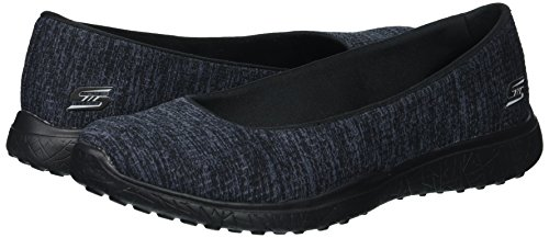 Skechers Colour Uk4 Size Black 23340 Darling Dash Microburst 76wx47qrU