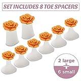 Toe Separators for Nail Polish Pedicure - 8 x