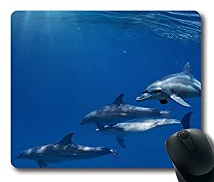Dolphins 3 Mouse Pad Desktop Laptop Mousepads Comfortable Office Mouse Pad Mat Cute Gaming Mouse Pad by mcsharks
