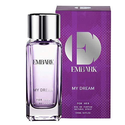 EMBARK Perfumes for Women/Ladies/Girls- Long Lasting Scent, My Dream for Her Women's Perfume, Oriental, Floral, Woody Smell, All-Day Fragrance for Indian Skin (100 Ml)