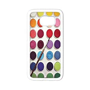 Colour palette Custom Cell Phone Case for Samsung Galaxy S6 by Nickcase