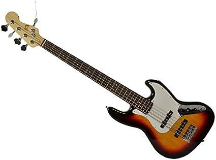 Bryce Sunburst - Guitarra eléctrica de bajo (5 cuerdas): Amazon.es ...