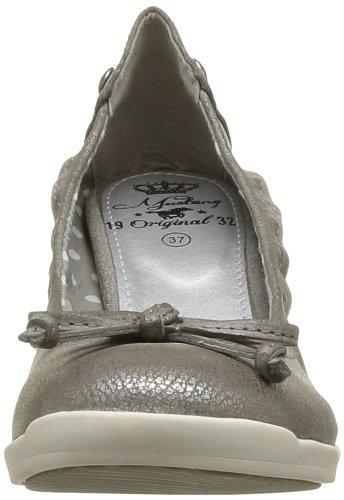Mustang Damen Pumps silber (silber,platin) 3088-201-258