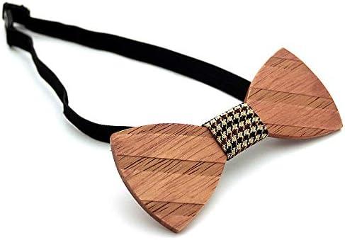 Neckchiefs Corbata de Lazo de Madera Creativa Hecha a Mano con ...