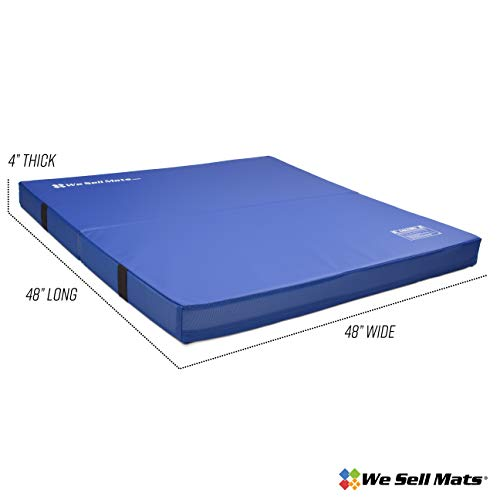 We Sell Mats 4×4 Crash Pad Blue