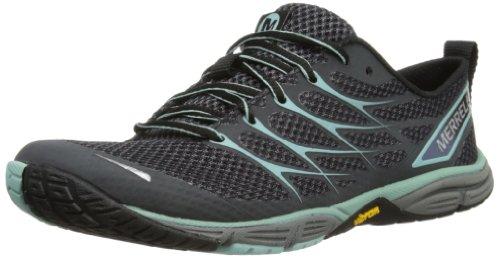 Merrell Womens Road Glove Dash 3 Scarpa Da Trail Running Nera / Blu Guscio Duovo