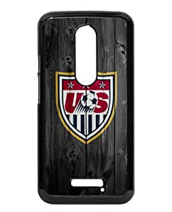 Unique Motorola Moto X 3rd Generation Case ,Hot Sale And Popular Designed Case With USA Soccer 10 Black Moto X 3rd Gen Skin Cover Great Quality Phone Case