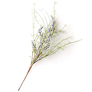 Factory Direct Craft Wispy Artificial Lavender Wildflower Sprays for Indoor Decor - 4 Sprays 98