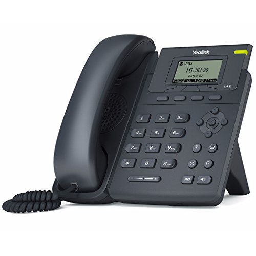 Yealink YEA-SIP-T19P-E2 Entry-level IP phone 1 Lines HD voice PoE LCD by Yealink