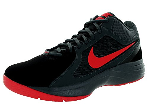 Nike Mens The Overplay Viii NBK, Blk/Unvrsty Rd/Anthrct/Drk Gry, 44.5 D(M) EU/9.5 D(M) UK