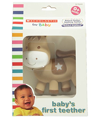 Scholastic for baby, Baby's First Teether, Horse