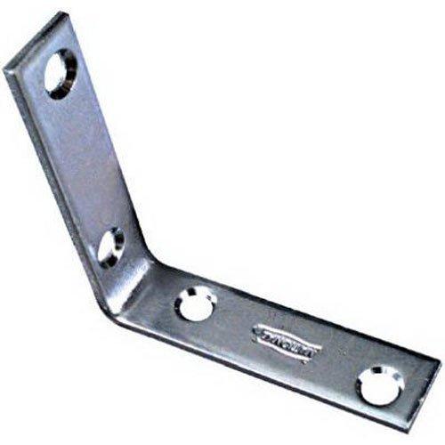 NATIONAL/SPECTRUM BRANDS HHI N113-233 2-1/2 x 5/8-Inch Corner Iron, 4-Pack 184663