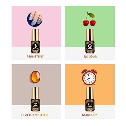 Gel Nail Polish Set - 12 Pcs 8ml Each Gel Nail with Gift Box, Soak Off Nail Art Manicure Varnish Set, Require LED UV Nail Dryer Lamp