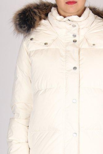 CIESSE CIESSE Bianco Bianco Bianco cappuccio zip e tasche DONNA automatici PIUMINI chiusura con CGW636 rOxrvH8