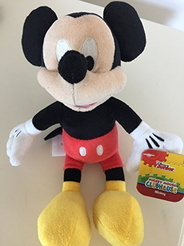 Just Play, Mickey Mouse Clubhouse, Mickey Mouse Bean Bag Plush, 9 Inches by -