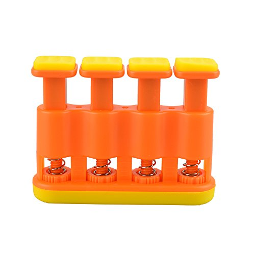 Portable Adjustable Hand Strengthener Finger Exerciser Hand Grip Exerciser for Children Physical Therapy, Grip&Finger Strengthening for Guitar Practice, Piano, Violin, Clarinet, Flute Instrument Play