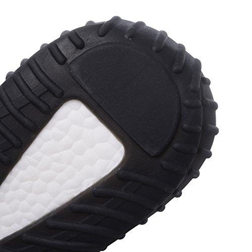 Noir Respirantes Course pour Levage et légères Chaussures de Femmes Rouge de Hojert Baskets xHzfYwPqq