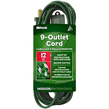 Woods Extension Cord For Christmas Or Holiday Lights With ...