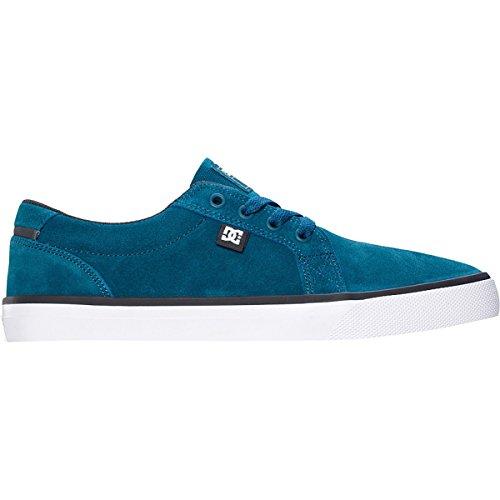 DC Council S - Zapatillas de skateboarding de ante para hombre gris Light Grey 39 azul - Dark Teal