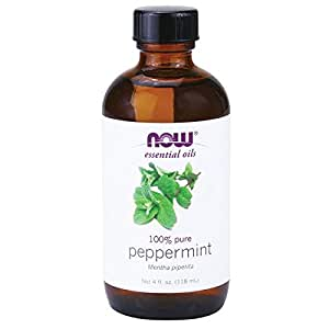 NOW Foods Peppermint Oil (Liquid), 4 oz
