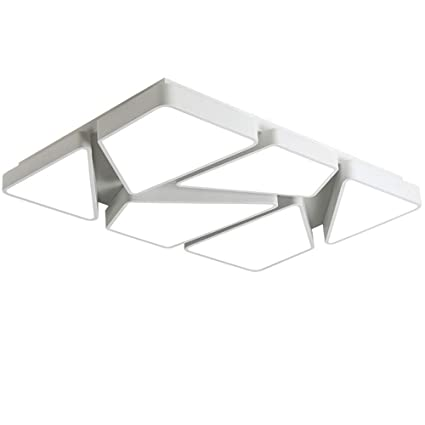 Modern Rectangle LED Ceiling Lights fixture for living room ...
