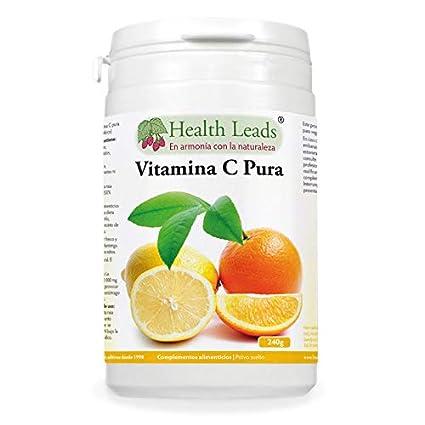 Polvo de vitamina C pura (ácido ascórbico) | Contribuye a mantener el funcionamiento normal