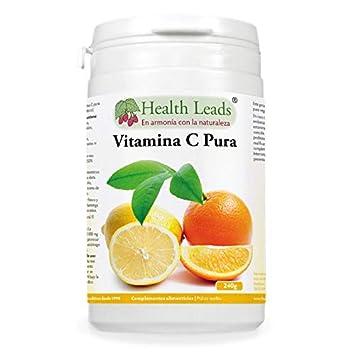 Polvo de vitamina C pura (ácido ascórbico)   Contribuye a mantener el funcionamiento normal del sistema inmunitario   Piel ...