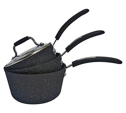 Scoville 3 Piece Aluminium Pan Set